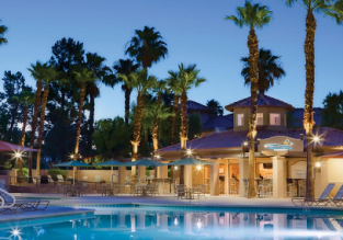 Summer! 4* Marriott's Desert Springs Villas in Palm Desert, California for only €82! (€41/ £37 pp)