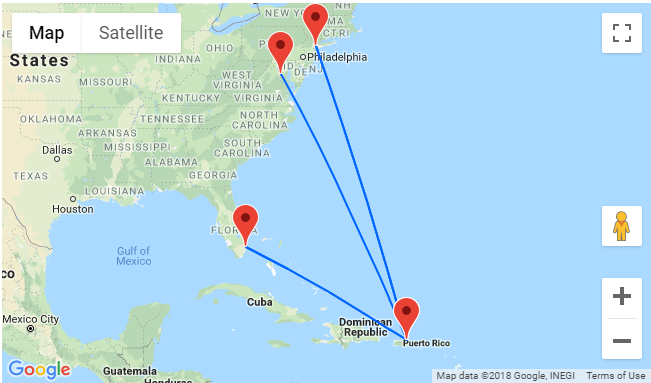 cheap flights from us east coast to puerto rico from just 89 one