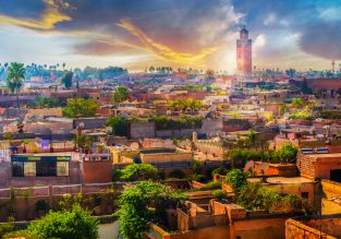 5-star holiday in Morocco! 7 nights at well-rated resort in Marrakech + cheap flights from London for just £152!