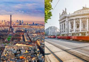 5* EVA: Cheap flights from South Korea to Austria or France from only $437!