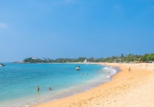 Sri Lanka beach holiday! 11 nights in top-rated hotel in Unawatuna + flights from Kyiv or Milan from €399!