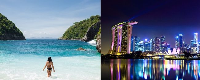 Discover Southeast Asia! Bali, Singapore, Penang, Langkawi, Kuala Lumpur and Siem Reap in one trip from Amsterdam for €488!