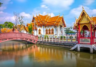5* Etihad: cheap flights from Switzerland to Thailand and Malaysia from only €386!