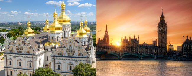 X-mas! Cheap flights from Ukraine to London from only 50 cents one-way!