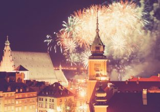 New Year! Cheap flights from Hong Kong to Warsaw, Poland for only $405!