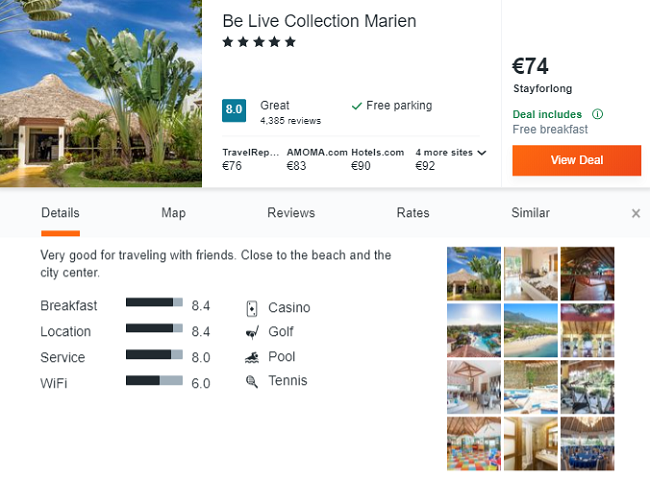 High season! All Inclusive 5* Be Live Collection Marien in