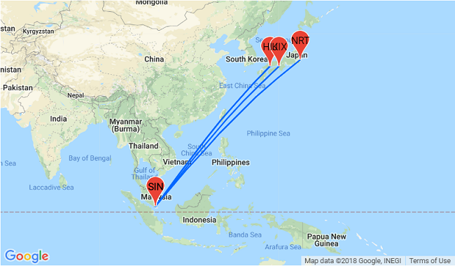 5* Singapore Airlines: Cheap non-stop flights from Japan to ...