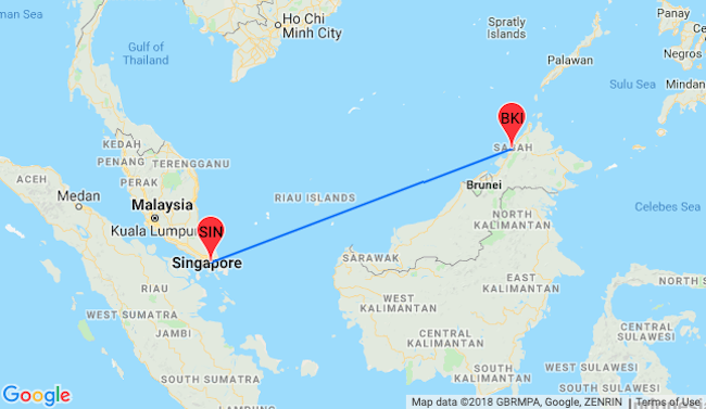 PEAK SEASON! Cheap flights from Singapore to Sabah, Borneo for only $59!