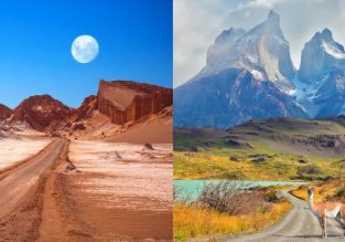 Discover Chile! Santiago, Atacama Desert and Patagonia in one trip from Spain for only €365!