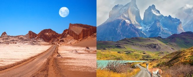 Discover Chile! Santiago, Atacama Desert and Patagonia in one trip from Paris from €399!
