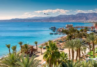 Cheap flights from Bucharest or Vilnius to Eilat, Israel from only €16!