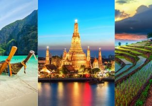 Discover Thailand! Bangkok, Chiang Mai, Koh Phangan, Koh Samui, Krabi, Phi Phi Islands and Phuket in one trip New York from $578!