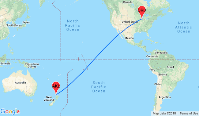 Flights From Usa To New Zealand Only 565