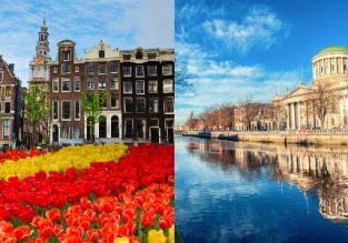 Cheap flights from Dublin to Amsterdam and vice-versa for only €10!