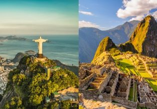 Rio de Janeiro, Brazil and Lima, Peru in one trip from Paris for only €437!