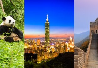 Spring! Chengdu, Taiwan and Beijing in one trip from Paris from only €365!