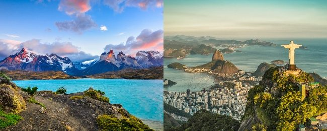 Chile and Brazil in one trip from Paris for only €420!