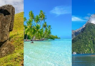 WOW! Brazil, Chile, Easter Island, French Polynesia and New Zealand in one trip from Italy for €1432!