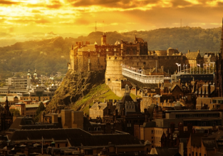 Cheap flights from San Francisco to Edinburgh, Scotland for only $404!