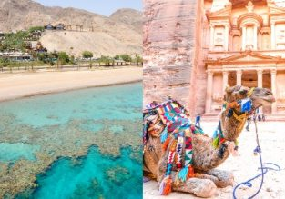 Eilat, Israel and Aqaba (Petra), Jordan in one trip from Sofia for only €7!