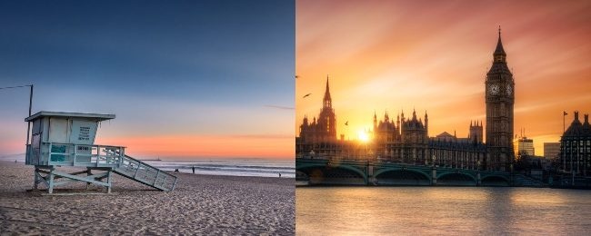 Cheap full-service non-stop flights from London to Los Angeles and vice-versa for £302/$427!