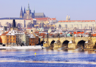 City break in Prague! 4-night stay at well-rated 4* hotel + flights from London for only £91!
