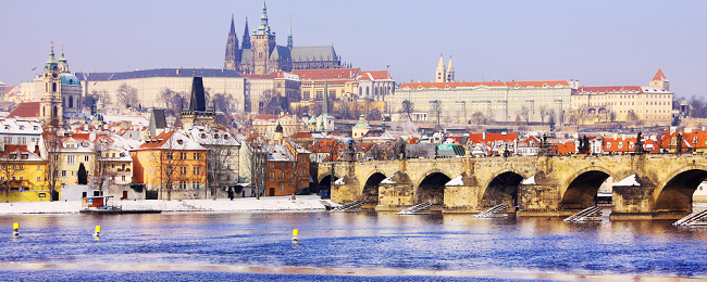 Valentine's weekend! 5* Occidental Praha Wilson in central Prague for only €66 / $73!
