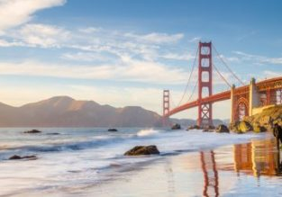 Late Summer & Spring 2020! Cheap full-service flights from Kyiv to San Francisco from only €384!