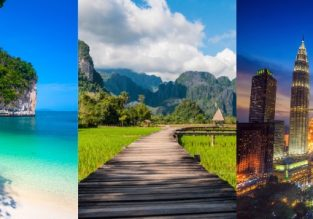 Discover Southeast Asia! Singapore, Thailand, Laos, Malaysia and Indonesia (Bali) in one trip from Los Angeles for $532!