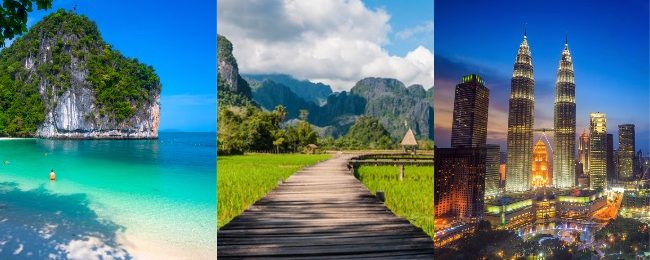 Thailand (Krabi, Phuket and Bangkok) Malaysia and Laos in one trip from Hong Kong for $211!