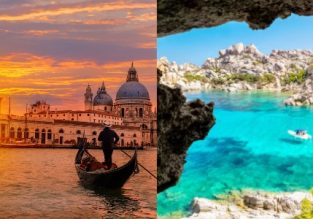 Discover Italy! Venice, Sardinia, Milan, Florence, Pisa and Sicily in one trip from Berlin for €59!