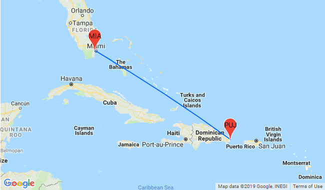 Top American Airlines Routes