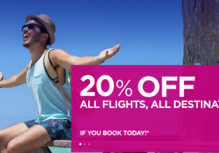 Wizz Air: 20% discount! Open to everyone!