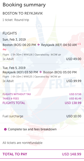 Wow Air Sale Cheap Flights From Usa To Europe From Only