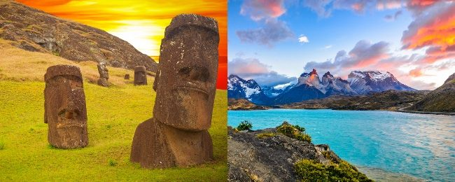 Exotic! Flights from Milan to remote Easter Island from €650! 2 in 1 with mainland Chile for €726!