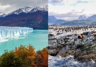 Discover Argentinian Patagonia! Flights from London or Milan to Ushuaia (Tierra del Fuego, Argentina) or Calafate from €426 / £424! 2 in 1 from £427!