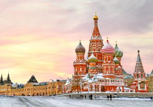 Cheap flights from London to Moscow from only £18!