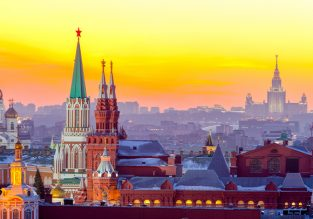 Cheap flights from New York or Los Angeles to Moscow and St. Petersburg, Russia from only $343!