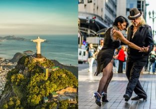Cheap flights from Tel Aviv to Buenos Aires or Rio de Janeiro from $519!