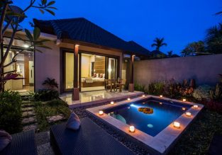 SUMMER! 170 m² villa at 4* Villa Mandi in Bali for just €17! (€8.5/£7 pp)