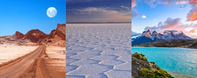 Chile + Bolivia trip from Spain from €438! Visit Santiago, Patagonia, Atacama Desert and Uyuni Salt Flats!
