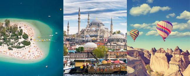Spring trip to Turkey! Turkish Riviera, Cappadocia and Istanbul in one trip from Bratislava from only €97!