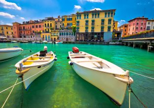 Break in Garda Lake! 4-night B&B stay at well-rated hotel + flights from London for just £112!