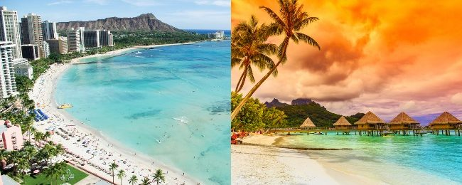 Cheap! Hawaii and French Polynesia in one trip from San Francisco from $647!