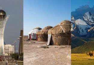 Spring trip to Central Asia! Astana, Tashkent, Bukhara, Samarkand, Bishkek and Almaty in one trip from Budapest for €354!