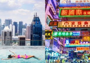 Cheap non-stop flights from Hong Kong to Malaysia and vice-versa from $92!