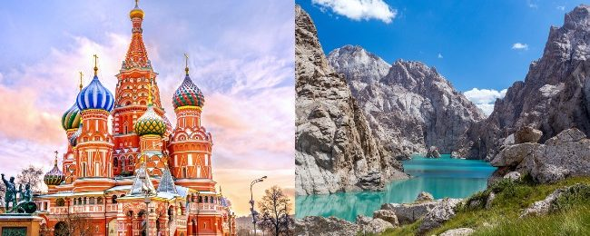Russia and Kyrgyzstan in one trip from Hungary, Germany, Slovakia or Latvia from only €145!