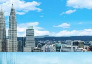 96m² family suite at 5* The Face, incl. access to Kuala Lumpur's most iconic rooftop pool for €100! (€25 / £21 per person)