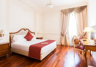 Xmas! B&B stay at 5* Grand Hotel Ritz in Rome for only €42/ $46 per person!