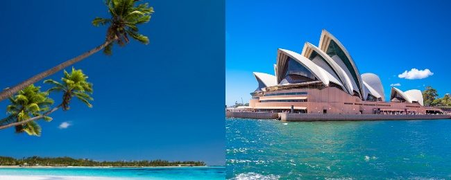 Exotic Fiji and Australia in one trip from California from $531!
